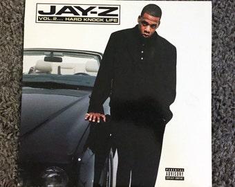 "Jay-Z Vol. 2 Hard Knock Life 2xLP Roc-A-Fella 12"" 2 Record NM Illamtic Vinyl Rap Hip Hop"