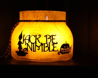 Jack Be Nimble Halloween Lantern