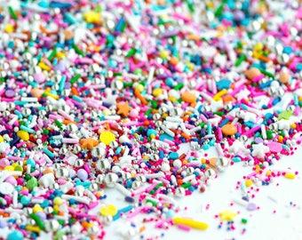 FLIGHT of the UNICORN Twinkle Sprinkle Medley, Unicorn Sprinkles, Rainbow and Silver, Canadian Sprinkles