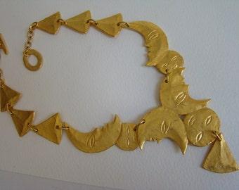 Carole Saint Germes Moon necklace