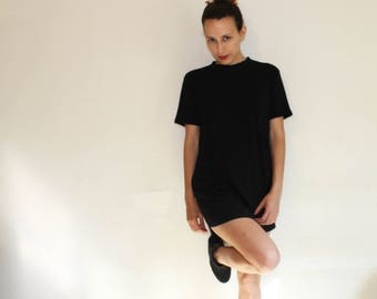 Black t shirt // Soft Tee shirt