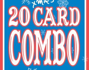 20 XMAS Card COMBO!