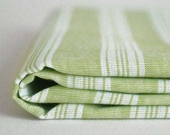 NEW / SALE 70 OFF/ Turkish Beach Towel Peshtemal / Green / Wedding Gift, Spa, Swim, Pool Towels and Pareo