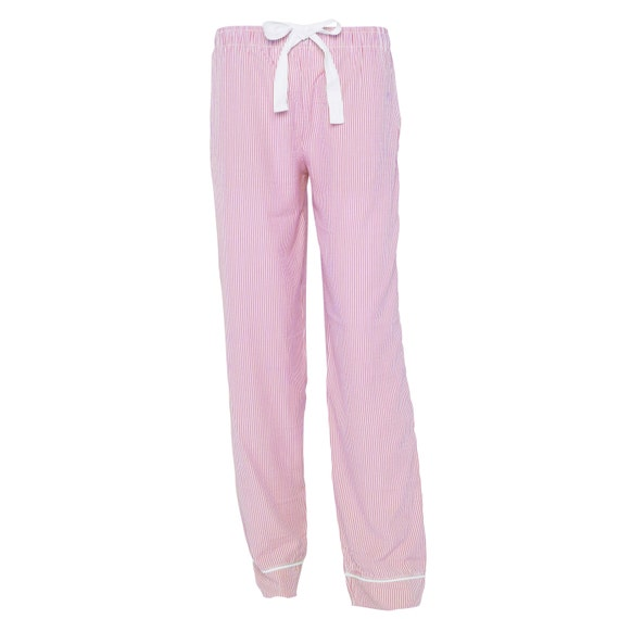 Pink Seersucker Lounge Pants!