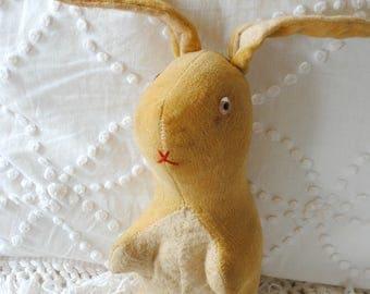 Antique velveteen rabbit - made in Japan