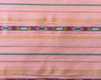 Tribe in bubblegum, Loominous 2 Collection by Anna Maria Horner for Free Spirit Fabrics 1/2 yd