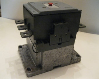 Stromberg Relay Contactor Size 5+  OKYM 5 W22 Made in Finland Electric Motor Control High Horse Power 3 Phaze Contactor Like New Condition