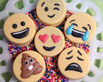 Emoji - Chocolate covered Oreo cookies