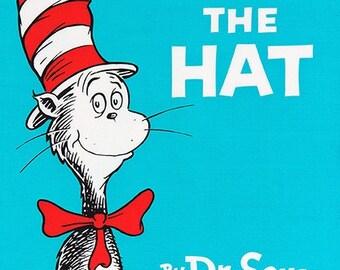 The Cat in the Hat Celebration Cat Panel by Dr. Seuss Enterprises for Robert Kaufman