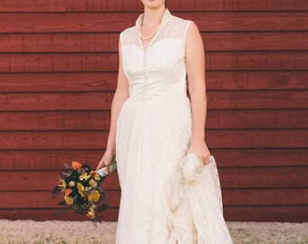 CUSTOM Bridal Gown from Grandmother is Renewed, Beauty All Over Again, I remodeled the antique gown, altered wedding gown