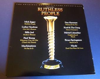 Ruthless People Original Motion Picture Soundtrack Vinyl Record LP SE 40398 Epic Records 1985
