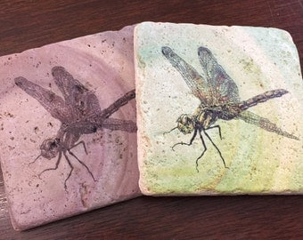 Travertine Coasters