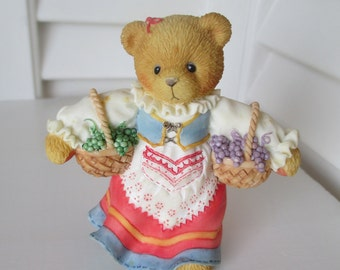 Vintage Enesco Bear - Sophia From Italy - 1997