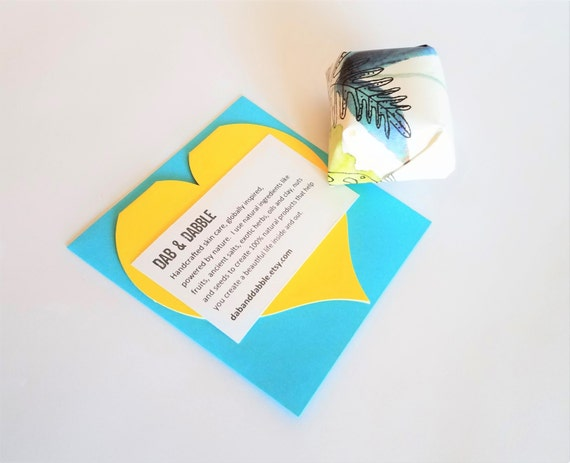 Bath Bomb Gift Set | Sweet Cream Bath Cube with Card | Coworker Gift | Gift For Sister | Mom Gift | Gift For Her
