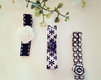 Kids Hair Clips, Baby Hair Clips, Hair Clips For Girls,  Toddler Girl, Infant Hair Clips  - Wild Side Collection - Hair accessories, Flowers