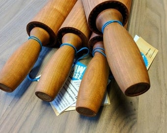 Solid wood rolling pin. Cherry