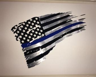 Thin Blue Line Flag -  Dennis Boyd Designs