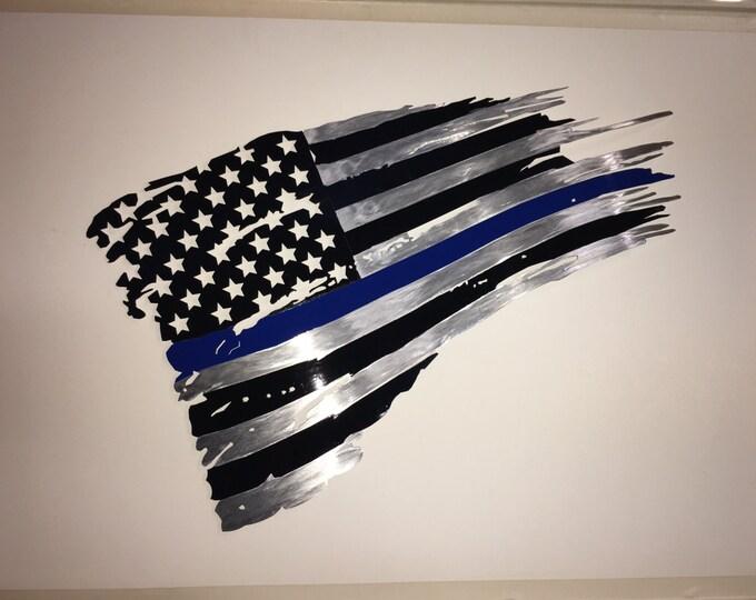 Featured listing image: Thin Blue Line Flag -  Dennis Boyd Designs