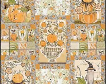Pumpkin Patch Quilt Kit, Cori Dantini, Blend Fabrics, Best Day Ever Fabric Collection