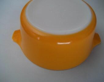 Orange Pyrex#474-B, Vintage, Casserole Dish, Baking Dish, Bowl