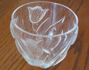 Lead Glass Vase Etsy