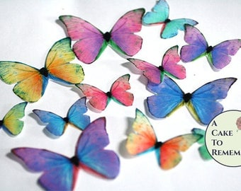 how to make a paper butterfly edible butterflies etsy 7790