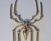 Bronze Spider Hair Fork