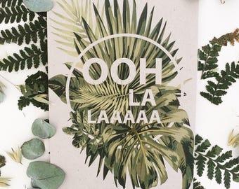 Ooh La La - Postcard