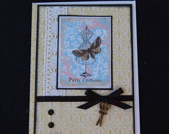 Sew Fashions - Blank Card and Coordinating Envelope