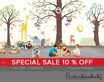 Kid's Playroom 3 Wall Decal - All Kids love this Wall sticker
