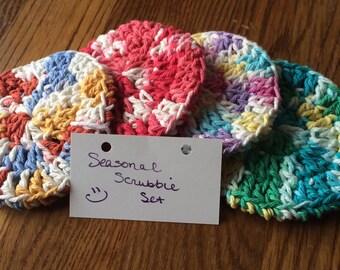 Seasonal Scrubbie Set