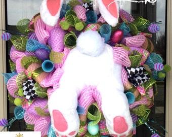 Deluxe Easter Bunny Wreath
