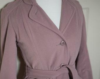 Mauve Maven Coat