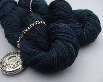 Soft Socks Heavy Yarn. Black Watch