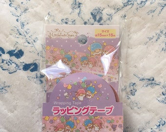 NEW Wrapping Sellotape Sanrio Little Twin Stars