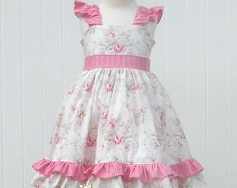 Rosemary Flutter Sleeve  Twirl dress-12mos-8