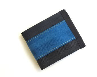 Blue and Gold Wallet (SBW-V3)
