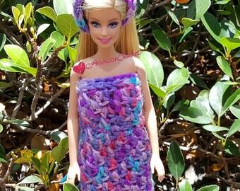 Bubble Berries Barbie Dress/Headband Crochet Pattern