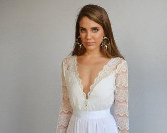 Cyber monday sale boho wedding dress strapless wedding by for Cyber monday wedding dresses