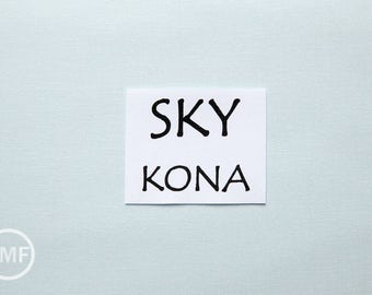 One Yard Sky Kona Cotton Solid Fabric from Robert Kaufman, K001-1513