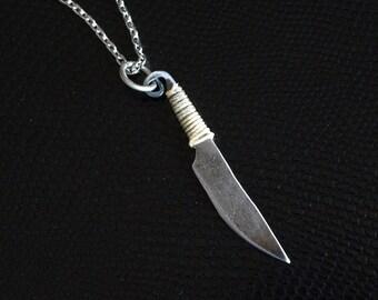 Celtic Knife Necklace