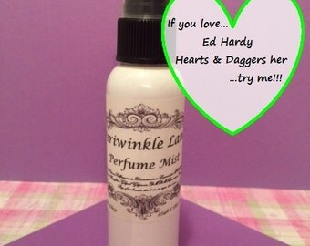Ed Hardy Hearts & Daggers type Perfume Mist