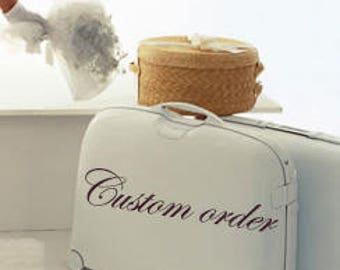 Custom order - reserved for Suzanne
