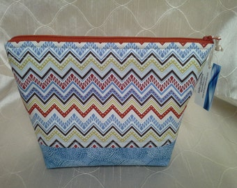 Southwest Chevron Essential Oil Bag