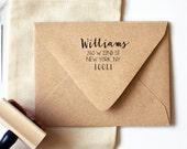 Home Sweet Home Return Address Stamp