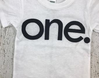 one shirt, one Birthday shirt, one birthday, 1st birthday invite, first birthday decor, black white birthday, 1st birthday, black and white