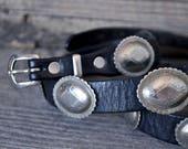 Vintage Chadwick Leather Concho Belt