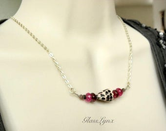 Hawaiian Sea Shell Necklace with Tourmaline Beads, Colorful Hebrew Cone Shell Jewelry, Handmade Shell Jewelry, Beach Jewelry Gift for Her