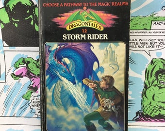 Dragontales #12 Storm Rider Roll Playing CYOA