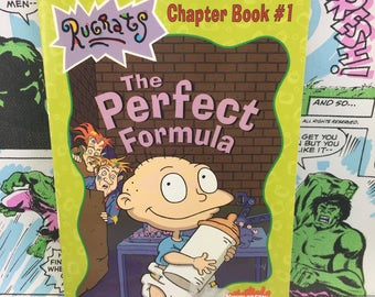 Rugrats Chapter Books - The Perfect Formula - Nickelodeon - Young Adults